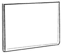 Marketing Holders Lot of 10 - 17'' X 11'' Flush Top Wall Mount Sign Holders (Landscape) by Marketing Holders