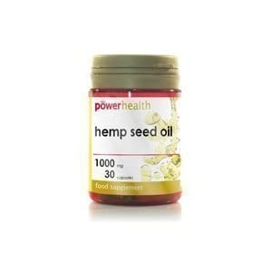 Power Health Hemp Seed Oil 1000mg + Vitamin E 10mg 30 capsules