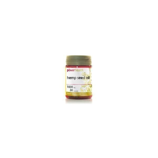 Power Health Hemp Seed Oil 1000mg + Vitamin E 10mg 30 capsules