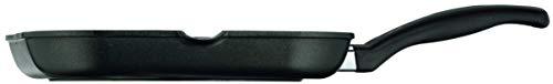 WMF Grillpfanne 27x27 cm mit Ausguss, Aluminium beschichtet, Steakpfanne ideal zum knusprigen Braten, eckige Pfanne, Kunststoffgriff 2