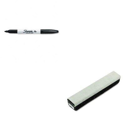 KITQRT807222SAN30001 - Value Kit - Quartet Deluxe Chalkboard Eraser/Cleaner (QRT807222) and Sharpie Permanent Marker (Qrt807222 Deluxe Chalkboard Eraser)