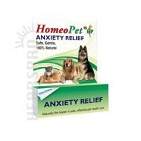 HomeoPet ANXIETY RELIEF Homeopathic Calming Aid Relax Dog Cat Bird 15 ml 3 PACK