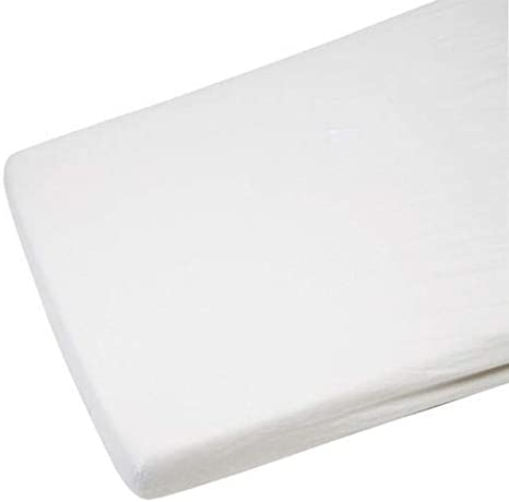 R/&Z Cot Bed//Toddler Bed Fitted Sheets 60x120cm Pack Of 2 White
