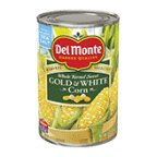 Select Harvest (Del Monte Canned Harvest Select Fresh Cut Whole Kernel Sweet Gold & White Corn, 15.25-Ounce (Pack of 12))