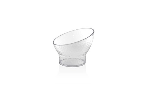 Front of the House DBO061CLT23 Drinkwise Slanted Footed Bowl, 4.25