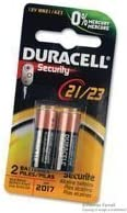 12 V DURACELL MN21B2PK Non-rechargeable Battery 5 pieces Alkaline Raised Positive and Flat Negative