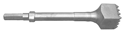 Champion Chisel, Steel Bushing Tool with 16 teeth.580 Hex Shank Oval Collar, Designed for .580 Hex Chipping Hammer with Oval Retainer