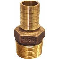 Merrill Mfg. Low Lead Brass Hose Barb Reducing -