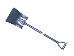 Square Shovel, All Steel Construction