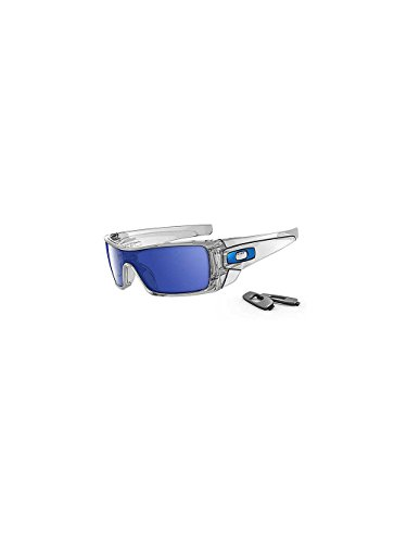 Oakley Batwolf Sunglasses-Clear/Ice - Batwolf Oakley Polarized