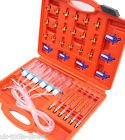 Flow Meter Common Rail Set With Injector Adapters Auto Tools direct