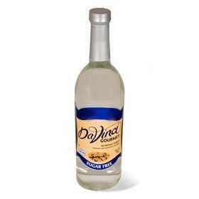 - DaVinci Sugar Free Chocolate Syrup 750ml Plastic Single Bottle