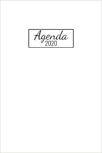 Agenda 2020: Janvier A Décembre 20 / 1 Semaine Sur 2 ...