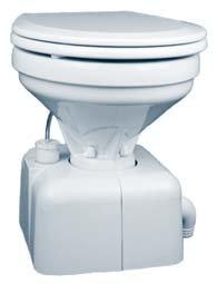 (Raritan Crown HeadTM - White - Household Style - Straight Discharge - 12V (33782))