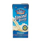 Blue Natural Almond Breeze Non-Dairy Beverage Vanilla 32 FZ (Pack of 4)