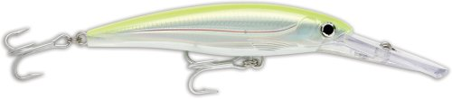 Rapala X-Rap Magnum 30 Fishing lure (Silver Fluorescent Chartreuse, Size- 6.25)