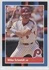 Mike Schmidt Philadelphia Phillies Baseball Card 1988 Donruss #330 (Schmidt Card Baseball)