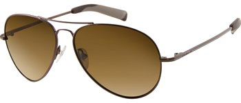 Guess? GU 6599P - SHINY BROWN/Brown (BRN-1/1) Brn 1 Brown Sunglasses