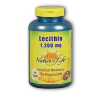Nature's Life Lecithin Softgels, 1200 Mg, 250-Count (Pack of 6) by Nature's Life