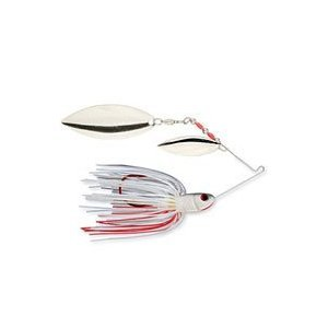 Strike King Bleeding Spinnerbait – Willow/Willow (Bleeding Shad, 0.5-Ounce), Outdoor Stuffs