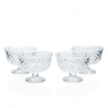 CRYSTAL GIFTWARE S/4 ALL PURPOSE BOWLS-DUBLIN