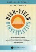 High-Yield Biostatistics 3rd ed (High-Yield  Series)