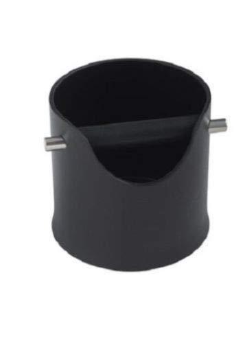 CREMA PRO BLACK Knock Bin Espresso Coffee Barista Shock-Absorbent Espresso Knock Box Shock-absorbing 4.3 inch by CREMA PRO
