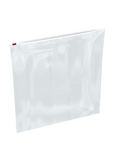 APQ Pack of 100 Slider Zip Lock Bags 18 x 20. Clear Poly Bags 18x20. FDA, USDA Approved, 3 mil. Polyethylene Bags for Packing and Storing. Plastic Bags for Industrial, Food Service, Healthcare Needs. from APQ Supply