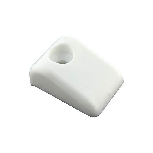 Rok Hardware Furniture Drawer Slide Bumper for Roll Out Shelves (10 Pack) ()