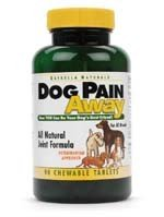 Dog Pain Away, Treats Arthritis, Inflammation, Joint Pain, and Decreased Flexibility – 90 Dog Chewable Tablets, My Pet Supplies