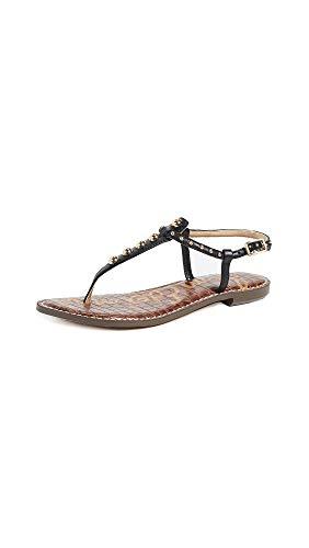 - Sam Edelman Women's Gigi Flat Sandals, Black, 4 M US