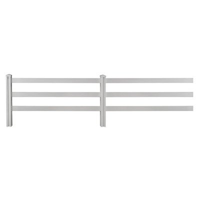 Vinyl Fencing 3 Rail - 1