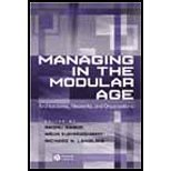 img - for Managing in the Modular Age Architectures, Networks, and Organizations [Wiley,2002] [Paperback] book / textbook / text book