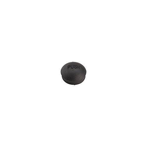Burley Dust Cap for Push Button Wheels: Rubber