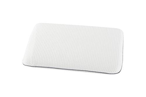 - Easy-Tang Kid Memory Foam Pillow for Sleeping, Contour Pillow Ideal for Kids, Babies, Toddlers, with Removable Zipper Pillow Case (Standard Shape for 1-3 Years Old 17x11 in)