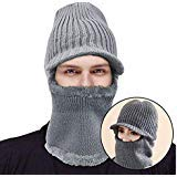 Komene  Kint Winter Hats, 3-in-1 Cold Weather