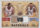 Metta World Peace; Carmelo Anthony #127/600 Metta World Peace (Basketball Card) 2009-10 Upper Deck - VS Dual Materials #VS-AA