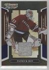 Patrick Roy #/250 (Trading Card) 2008 Donruss Americana Sports Legends - [Base] - Mirror Blue Materials [Memorabilia] #11