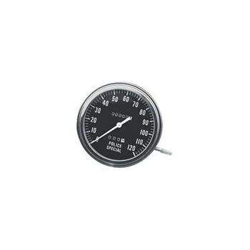 Orange Cycle Parts Single Trip Meter Softail FXST 84-95 w// Front Wheel Drive Speeds repl 67215-89 /& 67117-85 Speedometer Reset Knob /& Screw for Harley Dyna Wide Glide FXWG 85-86