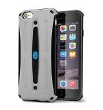 Volo Cases Slim Protective Cover for iPhone 6/6S with Sanitized - Grey