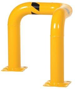 Vestil TEG-30-36-4 4.5 Diameter Triple Elbow Guard, 36 x 30in.