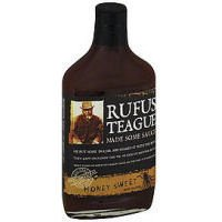 Rufus Teague Honey Sweet BBQ Sauce, 16 Ounce -- 6 per case.