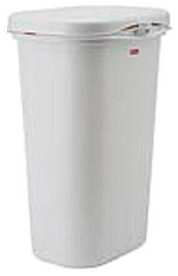 Rubbermaid Top Waste Basket, 52-Quart (Rubbermaid Spring Top Waste Cans With Linerlock)