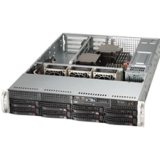Supermicro SuperServer 6027B-URF Barebone System - 2U Rack-mountable - Intel C602 Chipset - Socket B2 LGA-1356 - 2 x Processor SYS-6027B-URF