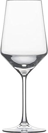 Pure Cabernet - Set de 6 copas de vino rojo transparente/cristal Tritan®/550ml/Al.: 24.4cm