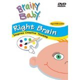 Brainy Baby Infant Learning DVD Right Brain Creative Thinking Classic Edition (Brain Infant Learning Dvd)