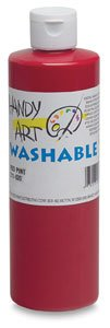 Handy Art Washable Paint 16 ounce, Peach