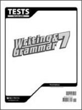 Test for Use with Writing & Grammar 7 (for Christian Schools)