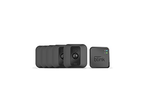 Blink XT Outdoor/Indoor Home Security Camera System for Your Smartphone with Motion Detection, Wall Mount, HD Video, 2 Year Battery and Cloud Storage Included - 5 Camera Kit by Blink Home Security
