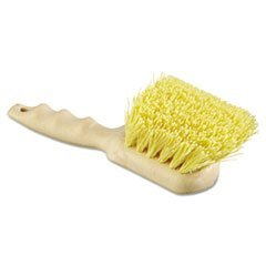 -- Utility Brush, Polypropylene Fill, 8 1/2'' Long, Tan Handle